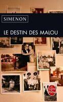 Le Destin Des Malou (Le Livre de Poche) by Simenon, Georges Book The Fast Free