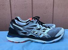 EUC ASICS T6C3N.9790 Mens Gel-Cumulus Running Shoe US 10 EUR 44 White Silver