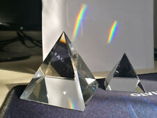 50mm Optical Glass Four Side Pyramid Prism Science Optics Experiment Instrument