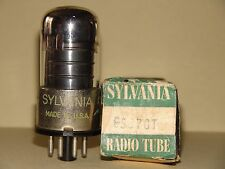 Sylvania 6SJ7 GT Vacuum Tube Very Strong Results = 2285