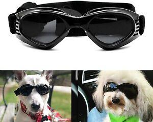 PETLESO Hundebrille Stilvolle Haustier-Sonnenbrille Schwarz