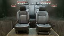 2008 NISSAN ROGUE FRONT & REAR POWER LEATHER SEATS BLACK INTERIOR TRIM CODE G