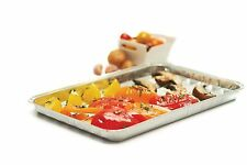 RL Treats BBQ Grill Pans / Aluminum Foil Grilling Trays, Pack of 3