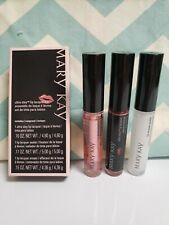 Mary Kay Limited Edition Ultra Stay Lip Lacquer Kit in Rose, New In Box