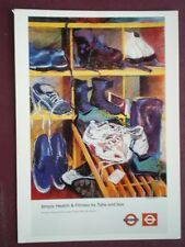 POSTCARD LTM-649 1999 POSTER SIMPLY HEALTH & FITNESS BY TUBE & BUS