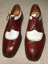Olivier, Brown & White, Algonquin Blucher Spectator Shoes EXC COND Made in Italy
