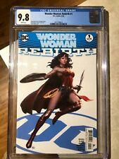 Wonder Woman: Rebirth #1 CGC 9.8 Graded - Liam Sharp Cover