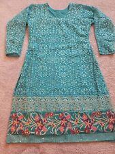 EID SPECIAL: Indian Pakistani Salwar Kameez Suit, Heavy Embroidery