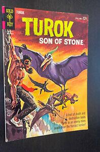 TUROK SON OF STONE #42 (Gold Key 1964) -- FN