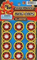 Super Bang PLASTIC RING CAPS CAPSULES (96 SHOTS) Made in Italy