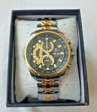 Casio Edifice Mens Gold Steel Chronograph Watch EF-558SG-1AVEF *BRAND NEW & BOX