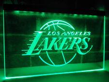 Los Angeles Lakers Team LED Neon Light Sign Bar Club Pub Advertise Decor Home