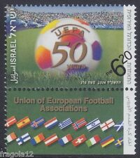 ISRAEL 2004 - 50° UEFA - CALCIO FOOTBALL - NIS 6,20 - MNH