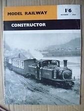 1957 Model Railway- CONSTRUCTOR, October 1957