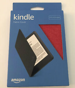 Amazon Kindle Fabric Cover Fits 10th Gen 2019 Version) PUNCH RED NEW/OPEN BOX