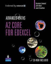 A2 Core Mathematics for Edexcel Longman Advanced Maths Very Good Condition