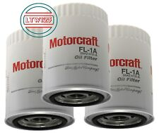 (3) Motorcraft FL1A Engine Oil Filter 3 for Ford Lincoln Mercury
