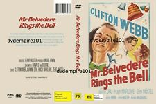 Mr. Belvedere Goes to College Clifton Webb DVD and Australia