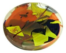 American Studio Glass - JOEL PHILIP MYERS - Huge Oval Blown SCULPTURAL FORM