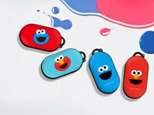 Official Sesame Street Cookie Monster Elmo Galaxy Buds Case Cover 100% Authentic