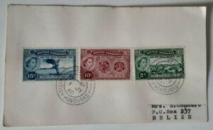 British Honduras 1960 - Post Office Centenary FDC card