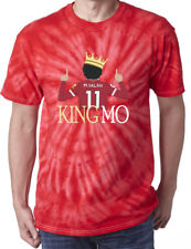 "Tie-Dye Mohamed Salah Liverpool ""King MO"" T-Shirt"