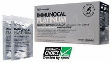 IMMUNOCAL PLATINUM 30 Pk, Natural source of Glutathione + Free CUP + Free MIXER