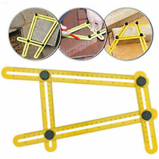 Universal Angularizer Ruler Multi Angle Measuring Tool Ultimate Yellow Template