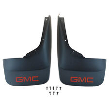 07-13 GMC Sierra Splash Guards / Mud Flaps- Front & Rear Sets- Black- GM New