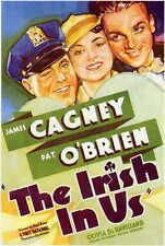 THE IRISH IN US Movie POSTER 11x17 James Cagney Pat O'Brien Olivia de Havilland