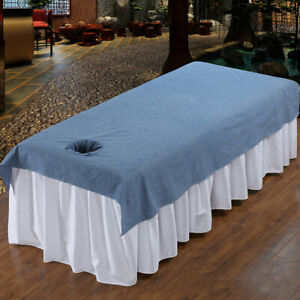 Reusable Washable Massage Table Bed Fitted Pad Cover Sheet Mat 200x120cm