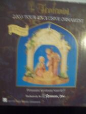 Fontanini Roman Heirloom Exclusive Nativity Ornament Imported From Italy