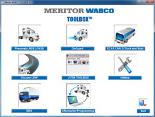 Meritor WABCO TOOLBOX 12.2 software
