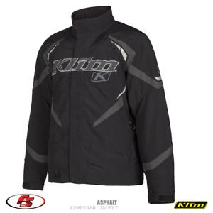 NEW KLIM Keweenaw Jacket - Asphalt- size MD Medium Snowmobile Jacket GORE-TEX