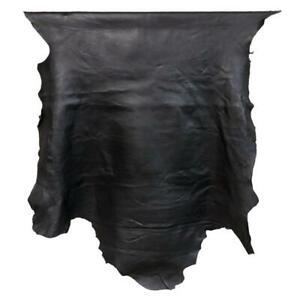 7sqft AAA Top Grade Black Nappa Lambskin Leather Hide