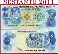PHILIPPINES FILIPPINE - 2 PISO 1981 Comm. Visit John Paul II - P 166 - FDS / UNC
