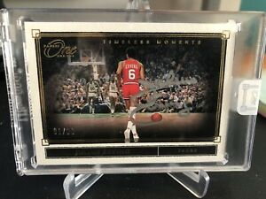 Julius Erving 2019-20 Panini One And One Timeless Moments Auto #1/10 EBay 1/1