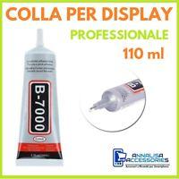COLLA B-7000 PER DISPLAY RIPARAZIONE SMARTPHONE CELLULARI VETRI TOUCH LCD 110ml