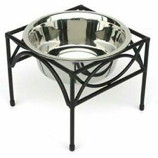 Regal Single Pet Diner Raised Dog Food Water Bowl Elevated Feeder Dish Small