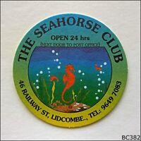 The Seahorse Club 46 Railway St Lidcombe Ph 96497083 Coaster (B382)