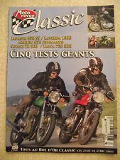 Moto Revue CLASSIC  n° 18 Dossier STEVE McQUEEN. Suzuki TR 500. KAWA 750 H2R