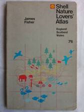 JAMES FISHER.SHELL NATURE LOVERS ATLAS ENGLAND SCOTLAND WALES,S/B 66,COLOUR ILL