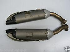 Original Auspuff links rechts both Exhaust Muffler Yamaha R1 YZF 1000 Bj. 04-06