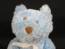 BLANKETS AND BEYOND BABY BOY BLUE TEDDY BEAR BROWN EYES NOSE CANADA PLUSH SOFT