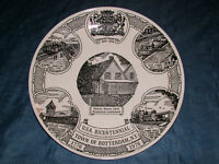 "VINTAGE 1776-1976 ROTTERDAM NY BICENTENNIAL 10"" PLATE"