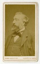 CDV Léon Michel Gambette French Prime Minister E Carjat Portrait Photograph