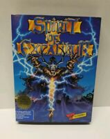 Spirit of Excalibur IBM PC Game with manual, map and box not tested COMPLETE