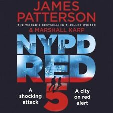 JAMES PATTERSON NYPD RED 5 CD AUDIO BOOK NEW SEALED FREE UK POST