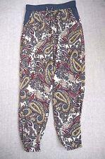 Trousers 10 | Blue & White Harem Trousers | L30