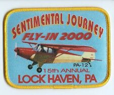 Sentimental Journey Fly in 2000 Lock Haven PA 3X4 PA 12 15th annual